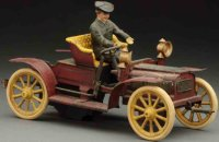 Carette Tin-Oldtimer Roadster with clockwork, made of...