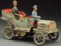Dannhorn Max Tin-Oldtimer Wind-up automboile made of...