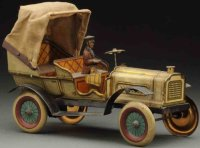 Issmayer Tin-Oldtimer Phaeton automobile made of...