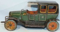 Hess Tin-Oldtimer Hessmobile travel limousine made of...