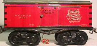 Ives Railway-Freight Wagons Merchandise car #64386 with...