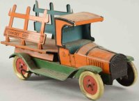 Chein Co. Tin-Trucks Dan-Dee Skid truck wind-up toy, made...