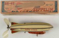 Strauss Tine Ariplanes Zeppelin #SR-47 made of...