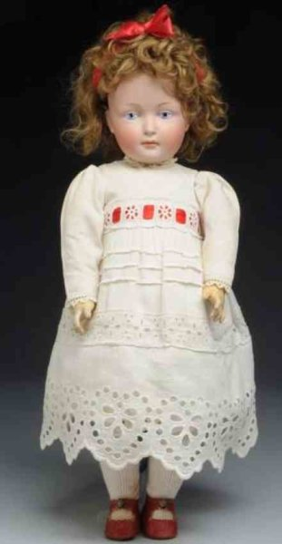 Kestner J. D. Dolls Bisque socket head character girl, head  incised 182 with