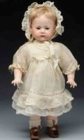 Marseille Armand Dolls Bisque socket head doll, head  is...