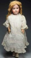 Kestner J. D. Dolls German bisque socket head child doll,...