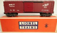 Lionel Railway-Freight Wagons M-K-T The Katy box car...