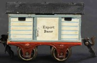 Maerklin Railway-Freight Wagons English beer car #1808/0...