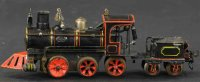 Maerklin Railway-Locomotives American D clockwork...