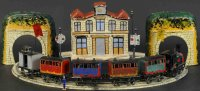 Tantet et Manon Railway-Trains Exploding train set with...