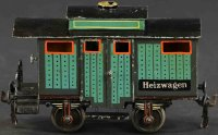 Maerklin Railway-Freight Wagons Heizwagen heating car...