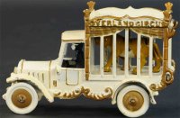 Kenton Hardware Co Cast-Iron trucks Overland circus cage...