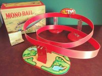 Niedermeier Philipp Tin-Toys Monorail #550 with...