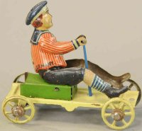 Meier Tin-Penny Toy Flying Hollander lithographed tin,...