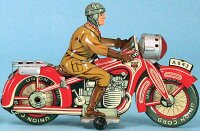 Arnold Tin-Motorcycles Touring cycle, made of tin,...