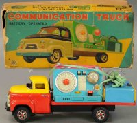 Masudaya Modern Toys Tin-Trucks Mobile communications...