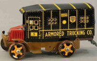 Marx Vehicles-Trucks armored truck 10
