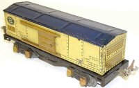 Ives Railway-Freight Wagons Stock car #1678 with eight...