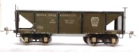Ives Railway-Freight Wagons Hopper car #194 in green and...