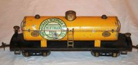 Ives Railway-Freight Wagons Tank car #190 with eight...