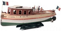 Maerklin Tin-Ships Motorboat Vedette #5055/44,pleasure...