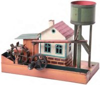 Maerklin Steam Toys-Drive Models Sawmill #4645 with water...
