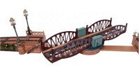 Maerklin Railway-Bridges Swing bridge #2513/1 L for...