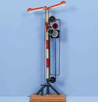 Maerklin Railway-Signals Signal mast #2698/2314 with...