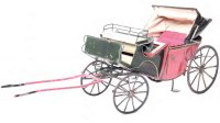 Rock & Graner Tin-Carriages Carriage with a folding roof,...