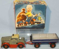 Arnold Tin-Trucks Small truck #215 with triangular light...