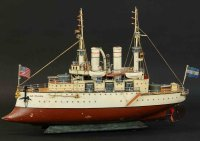 Maerklin Tin-Ships Battleship #5121/74 LA PLATA with...