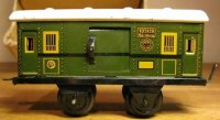 Bing Railway-Passenger Cars Baggage car #10/5128 with...