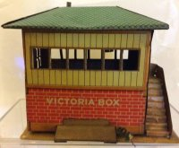 Fischer Heinrich Railway-Interlockings Signal box,...