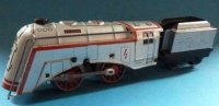 Dressler Konrad Railway-Locomotives Clockwork streamline...