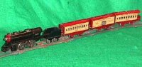 Hafner Railway-Trains Steam outline clockwork train set,...