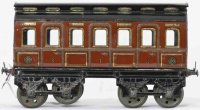 Guenthermann Railway-Floor Train Passenger car with eight...