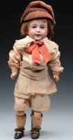 SFBJ Dolls French bisque socket head character doll, head...