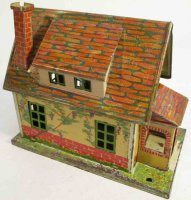 Lionel Railway-Buildings Bungalow No. 184 litographed and...