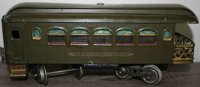 Lionel Railway-Passenger Cars Observation car #36.6 with...