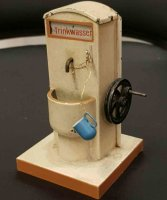 Bing Steam Toys-Drive Models Drinking water fountain...