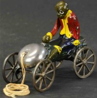 Kyser & Rex Cast-Iron Figures Monkey with coconut made of...