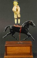 Ives Tin-Figures Circus rider, very rare example, depicts...