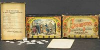 Bradley Milton Board-Games Boxed historiscope with...