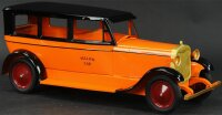 Turner Toys Tin-Oldtimer Packard Lincoln yellow taxi cab,...