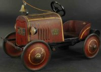 Murray Tin-pedal cars Fire chief pedal car made of...