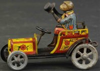 Distler Tin-Other-Vehicles Monkey car #511W features a...