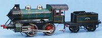 Bing Railway-Locomotives Locomotive #11/415, tender with...
