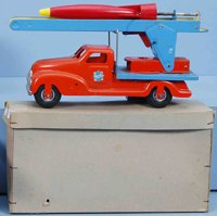 Gescha Tin-Trucks Rocket truck #610 R, made of sheet...