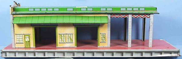 Marx Freight Station-Accessories Freight-Terminal