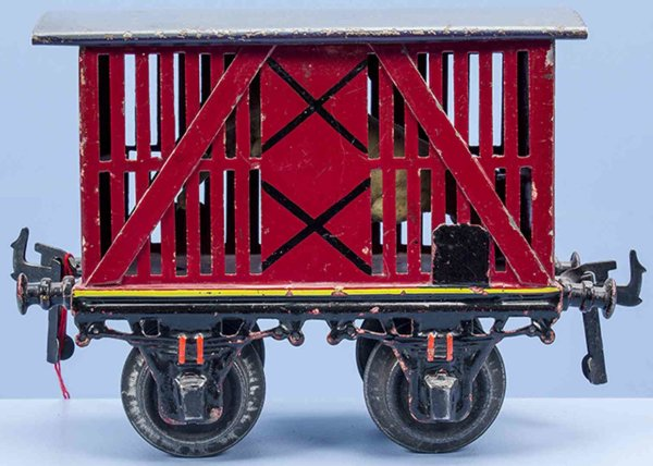 Bing Freight Wagons 8425 red-brown pigs